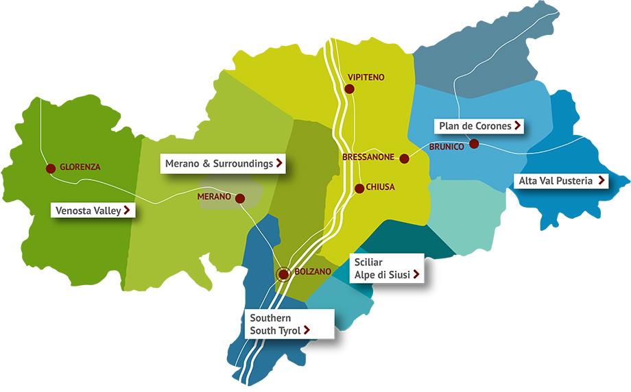 Cartina Trentino Alto Adige Dettagliata.Camping South Tyrol Find The Right Camping Area