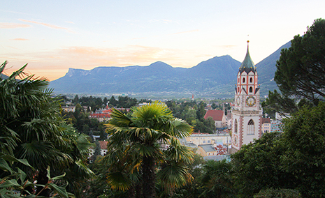 Merano In Italy South Tyrol And Meraner Land